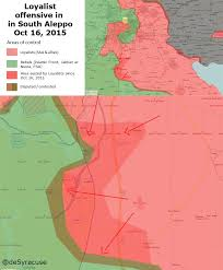 Isw Blog September 2015 by The Situation In Syria For October 17 Col Cassad The Fourth