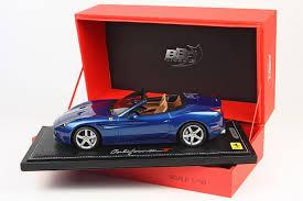 california model car the fferrari california t high end resin model car blue 1 18 scale