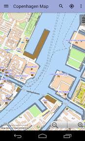 map of copenhagen copenhagen offline city map android apps on play