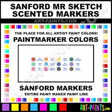 sanford mr sketch scented paintmarker marking pen colors sanford