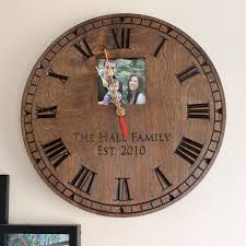 personalized clocks with pictures 7 best personalized clocks images on personalized