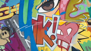 How To Graffiti With Spray Paint - graffiti icon crash serves up an animated one two punch in chelsea