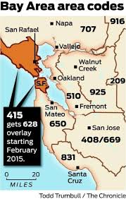 us area codes 408 end of line for 415 2nd area code coming for s f marin sfgate