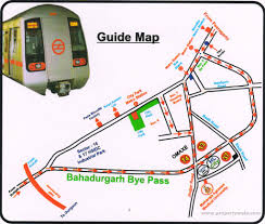 Bahadurgarh Metro Map 2 bedroom apartment flat for sale in sector 37 bahadurgarh