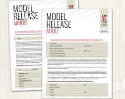 model release form template free printable photography model release form template simple