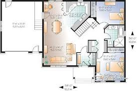 bungalow floor plan house plan w2163 v2 detail from drummondhouseplans