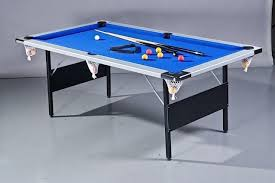 4ft pool table folding pool table folding 7ft 2 1m by 4ft 1 2m very solid and heavy