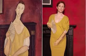 modigliani woman with a fan the transformation steemit