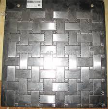 Gray Aluminium Backsplash Tiles Lowes Mosaic Buy Backsplash - Lowes backsplash tiles