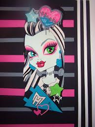 monster high doll wallpaper art sricker mural handmade roo u2026 flickr
