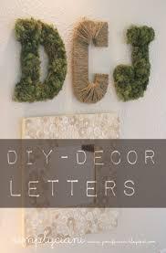 diy moss u0026 letters simply ciani