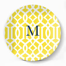trellis gate yellow plate u2013 milogiftshop
