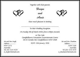 indian wedding card wording indian wedding card matter in lake side corrals