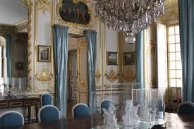 versailles dining room this is versailles the porcelain dining room