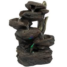Fountains For Home Decor Best Choice Products Home Indoor 6 Tier Tabletop Fountain