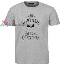 nightmare before t shirt gift tees cool shirts