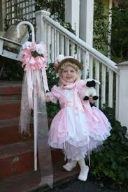 Fancy Nancy Halloween Costume Bo Peep Costume Size 4 Dress Pantaloons Apron