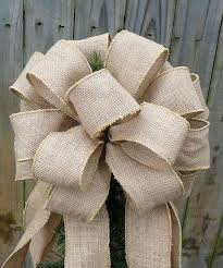 25 unique bows on tree ideas on burlap on