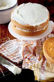cake with grapefruit cream cheese frosting