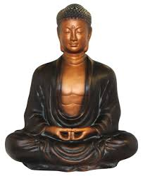 Buddha Home Decor Statues by Large Buddha Statue 21 Inches High