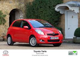 2009 toyota yaris less is so much more toyota uk media site
