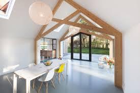 renovation bureau farmhouse gets an uplifting renovation and extension home