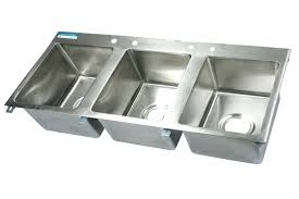 three compartment sink faucet free kitchen top of 3 compartment kitchen sink remodel with