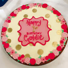 birthday cookie cake goldie birthday cookie cake hayley cakes and cookies