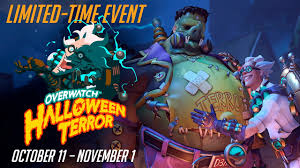 dva halloween spray new seasonal event welcome to overwatch halloween terror rebrn com