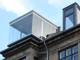 glass boxes on roof in copenhagen denmark