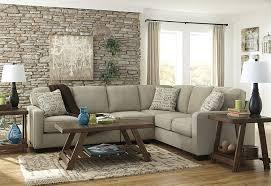 Ashley Furniture Tufted Sofa by Amazon Com Ashley Alenya 16600 55 67 2pc Sectional Sofa With Left