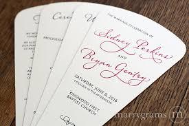 programs for wedding ceremony wedding ceremony fan programs wedding ceremony fans toretoco