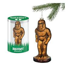 bigfoot glass ornament accoutrements bigfoot