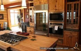 best home kitchen golden eagle log and timber homes design ideas log home kitchens