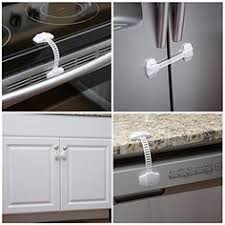 Safety Locks For Kitchen Cabinets Velcro Cabinet Doors Less Annoying And More Cheap Baby Proofing