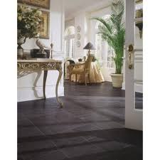 Laminate Flooring Not Clicking Together Home Decorators Collection Black Slate 8 Mm Thick X 12 In Wide X