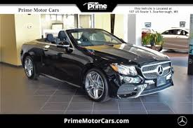 mercedes e class convertible for sale 2018 mercedes e class for sale scarborough me