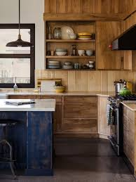 rustic kitchen cabinets with glass doors 5 rustic kitchen cabinets ideas that aren t cliche