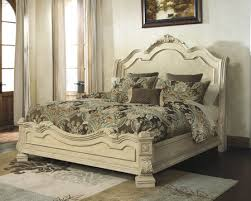 King Sleigh Bed Ashley Furniture Ortanique King Sleigh Bed B707