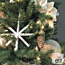 diy clothespin snowflake ornament hometalk
