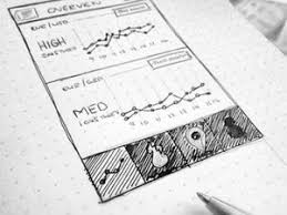 25 examples of inspiring wireframe sketches web design fact