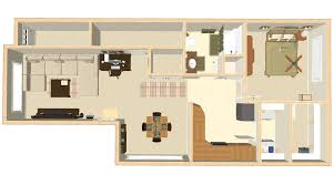 one bedroom house plan jackson apartments floor plans