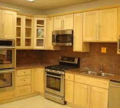 Shaker Kitchen Cabinet Natural Maple Shaker Kitchen Cabinets Best Home Decor