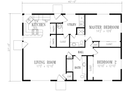 2 bedroom and bathroom house plans ranch style house plan 2 beds 2 00 baths 1080 sq ft plan 1 158