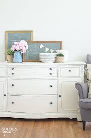 vintage buffet makeover the golden sycamore