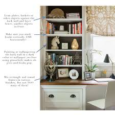 anatomy of a well styled bookshelf elements of style blog