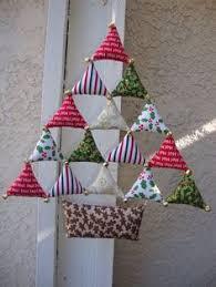 origami folded fabric ornaments folded fabric ornaments fabric