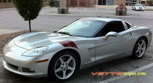 corvette c6 grand sport c6 corvette rf or grandsport fender hash stripes with free