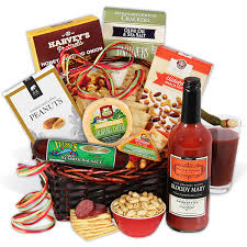 sausage gift baskets bloody gift basket by gourmetgiftbaskets