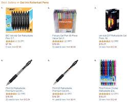 Most Popular Amazon Whats The Most Popular Pen According To Amazon That Is